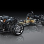 2014 Cadillac ELR battery pack and motor location