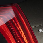 Striking LED taillights on Cadillac ELR