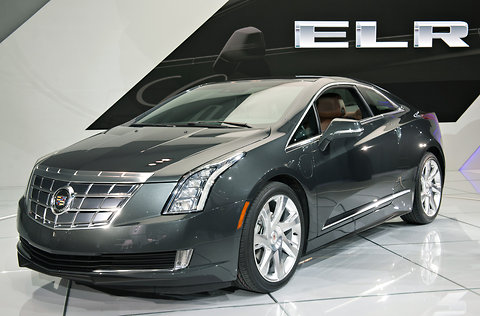 2014 Cadillac ELR at 2013 North American International Auto Show